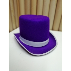 Sombrero copa morado