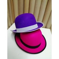 Sombrero bombín colores